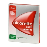 Nicorette Patch áttetsző 25 mg/16 óra transz.tap. 7x