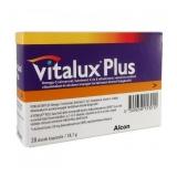 Vitalux Plus Omega-3 lutein 10mg étrendkiegészítő kapszula 28x