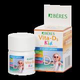 Béres Vita-D3 Kid 800NE rágótabletta 50x