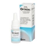 Oftagel 2,5 mg/g szemgél 1x10g