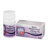 Béres Magnézium 250 mg+B6 filmtabletta 60x