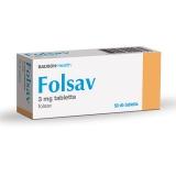 Folsav 3 mg tabletta 50x