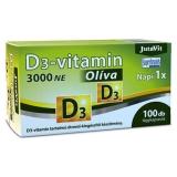 Jutavit D3-vitamin 3000NE Oliva kapszula 100x