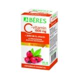 Béres C-vitamin 1000 mg + D3-vitamin 2000NE retard filmtabletta csipkebogyó kivonattal 90x