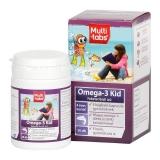 Multi-Tabs Kid Omega-3 rágókapszula feketeribizli 30x