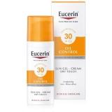 Eucerin Sun Oil Control napozó krém - gél arcra FF30 50 ml