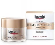 Eucerin Hyaluron-Filler + Elasticity arckrém éjszakai 50ml