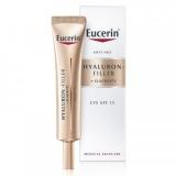 Eucerin Hyaluron-Filler + Elasticity szemránckrém FF15 15ml