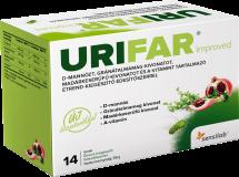 Urifar Improved étrend-kiegészítő granulátum 14 tasak