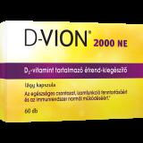 D-Vion D3-vitamin 2000NE kapszula 60x