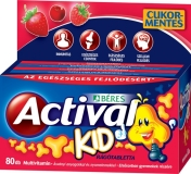 Béres Actival Kid rágótabletta 80x