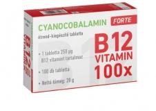 Cyanocobalamin 250 mcg FORTE tabletta 100x