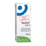 Hyabak 0,15% nedvesítő szemcsepp 10ml