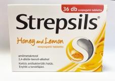 Strepsils méz és citrom tabletta 36x